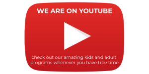 We are on Youtube